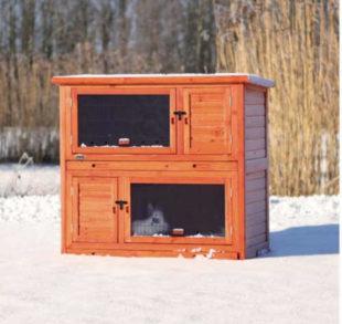Kotec pro hlodavce s tepelnou izolací