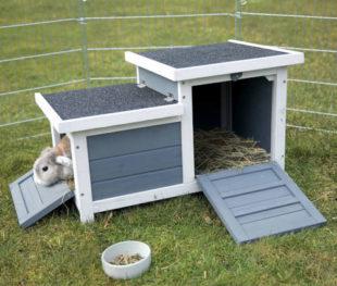 Zahradní domek pro hlodavce s 2 vchody Trixie natura